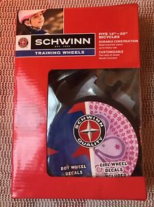"""Schwinn Safety Training Wheels Fits Most 12""""- 20"""" Childrens Bicycles New"""