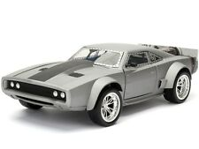 JADA 1:24 98291 FAST AND FURIOUS 8 DOM'S ICE DODGE CHARGER DIECAST MODEL SILVER