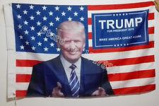 Donald Trump 2016 Make America Great Again Flag