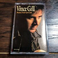 Vince Gill 'Pocket Full of Gold' Cassette (1991, MCA) * Vintage!