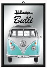 Framed Bar Mirror VOLKSWAGEN BULLI VW-T1 Kombi Bus 20x30cm Combi Licensed