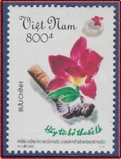 VIETNAM N°1987** Lutte TABAC,  2001 Vietnam 3059 Campaign against smoking MNH