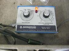 Barnstead Sybron Model: PM-6 Water Purity Meter <   J