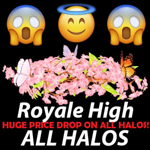 [UPDATED] HALO, HALOS 😇 Royale High 😇 ROBLOX