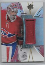 Carey Price Canadiens 2016-17 Upper Deck SPx Game Worn Jersey