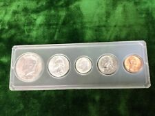 1964-D US Mint Silver Unc. Proof Set Kennedy Half Dollar 90% Silver