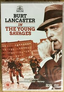 The Young Savages (1961) DVD Burt Lancaster Brand New and Sealed FREE UK POSTAGE