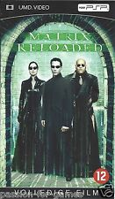 MATRIX RELOADED - UMD video for PSP with box