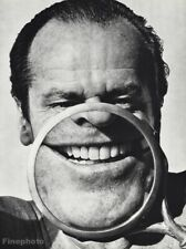 1986 Jack Nicholson Humor By Herb Ritts Movie Actor Surreal Photo Gravure 16x20