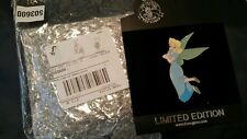 Disney Halloween Tinker Bell as Peter Pan Wendy jumbo Pin LE 300