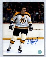 Phil Esposito Boston Bruin Autographed NHL Hockey Hall of Fame Legend 8x10 Photo