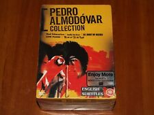 Pedro Almodovar 5x Dvd Box Bad Education-Talk To Her-My Mother-Live Flesh-Tie Me