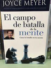 El Campo de Batalla de la Mente by Joyce Meyer (2002, Paperback tamaÑo bolsillo