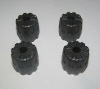 Lego ® Nexo Espace Space Lot x4 Petites Roues Titan Metal Wheels ref 6118 NEW
