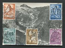 SAN MARINO MK 1964 ALPINISMUS BERGE MOUNT MAXIMUMKARTE MAXIMUM CARD MC CM d8427