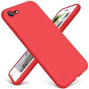 For Apple iPhone 7 8 Plus SE 2020 Original Liquid Slim Soft Silicone Phone Case