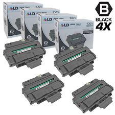 LD © Compatible Xerox 106R01486 Set of 4 Black Toner WorkCentre 3210 3220