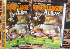 Official 2002 Rugby League Card Album complete with cards plus error card Rare
