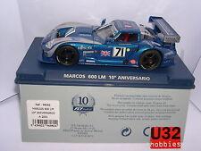 FLY 96082 A-2001 MARCOS 600 LM #71 MIGNAULT-LESLIE 10ºANNIVERSARIO LIMIT.ED. MB