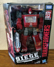 Transformers War for Cybertron: Siege Ironhide, 100% Complete, MIB