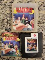 Blackjack (Nintendo Entertainment System NES) MANUAL AND CARTRIDGE FREE SHIPPING