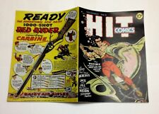 Hit Comics #5 Photocopy REPLICA Comic Book, Classic Lou Fine Art (see details)