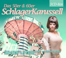 CD Le 50er et 60er années schlager Carrousel de various artists 3cds