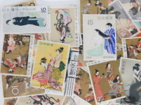 STAMP JAPAN PHILATELIC WEEK 300pc lot off paper philatelic collection 1950-2000