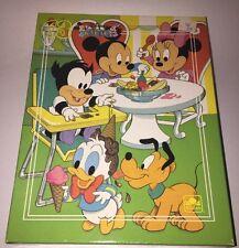 "NEW DISNEY BABIES Golden 63 Piece Puzzle - 11 1/2"" x 15""- Mickey, Donald, Goofy"