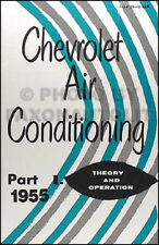 1955 Chevy Air Conditioning Service Manual Set 55 Chevrolet 150 210 Bel Air AC