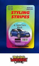 Black Car Styling Moulding Strips