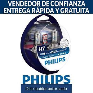 Philips Racing Vision RacingVision +150% H7 Bombillas Coche (Doble) 12972RVS2