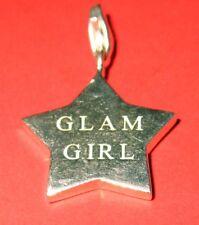 Thomas Sabo Charm - Sterling Silver 'GLAM GIRL' Pendant Charm