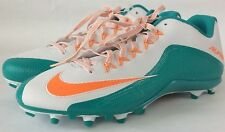 Nike Mens Alpha Pro 2 Td Football Cleats 729445-117 Miami Dolphins Size 16 New