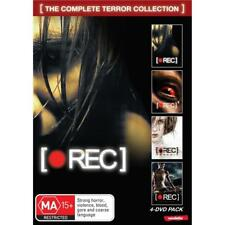 Rec 1 2 3 4 Collection Box Set - Horror Foreign World Cinema DVD R4 New! *