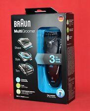 Braun MG 5050 Multigroomer 3in1 Wet & Dry Rasierer Styler Trimmer