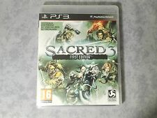 SACRED 3 FIRST EDITION - SONY PS3 PLAYSTATION 3 PAL ITALIANO COMPLETO COME NUOVO