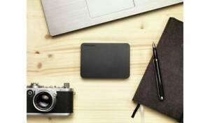 Toshiba Canvio Basics 1TB Portable External Hard Drive - HDTB410EK3AA