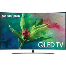 "Samsung Qn55Q7Cn 55"" Class Smart Curved Qled 4K Ultra Quantum Dot Tv With Wi-Fi"