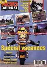 MOTO JOURNAL 1337 CAGIVA 900 Gran Canyon HARLEY DAVIDSON Cam 88 Olivier JACQUE