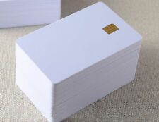 (50 pc / lotto) iso7816 RFID contatto SLE 4442 PVC chip smart IC cards lotto all' ingrosso