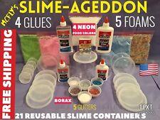 Slimeageddon Slime kit Worlds Best Slime Kit Birthday gift Slime Making Kit Huge