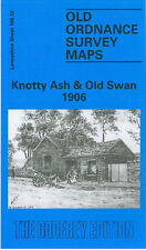 Old Ordnance Survey Mappa intricato Ash & Old Swan 1906