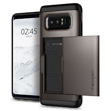 For Samsung Galaxy Note 8 I Spigen® [Slim Armor CS] Card Slot Wallet Case Cover