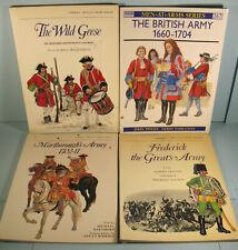 4 Osprey Military Wild Geese British Army Frederick the Great Marlborough 1702