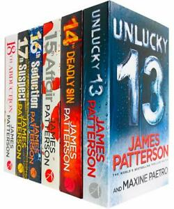 Womens Murder Club 6 Books Collection Set by James Patterson (Books 13 - 18)