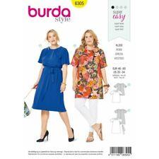 Las Mejores Ofertas En Patrones De Costura Burda Vestido Talla Grande Ebay
