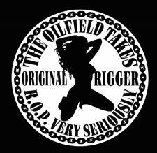 2pcs Original Rigger R.O.P Hard Hat Sticker Helmet Decal Fun osha oilfield Mafia