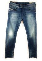 Diesel Belther R Mens Regular Slim Tapered R18T8 Stretch Jeans Denim W30 L32
