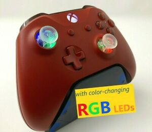 Limited Edition Red Xbox One Controller with LED GLOWING MOD